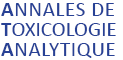 Annales de Toxicologie Analytique